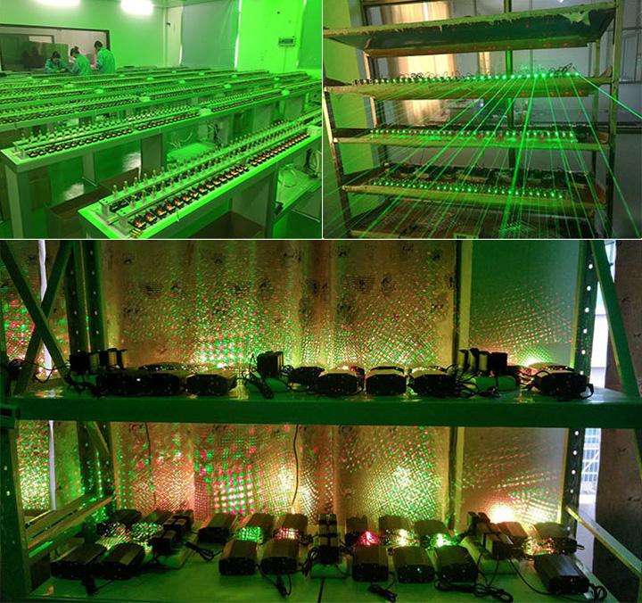 proiettore laser discoteca