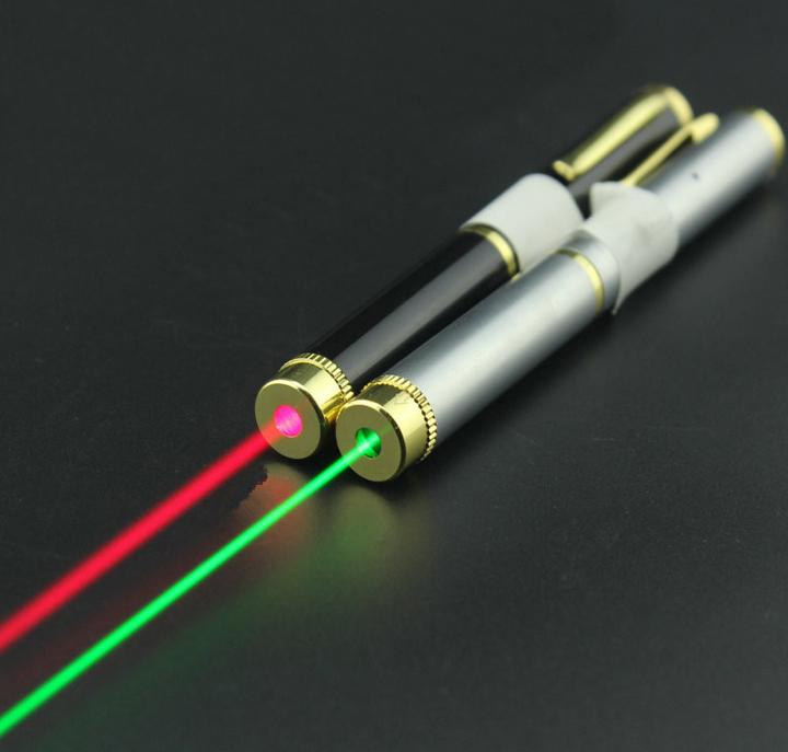 Puntatore laser ricaricabile verde / rosso USB economico e ...