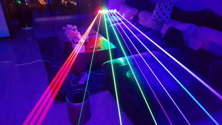 puntatore laser blu 50000mW